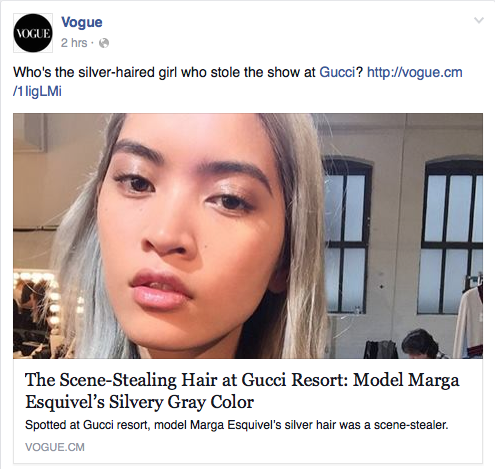 Marga Esquivel's Silver Locks  Vogue.com