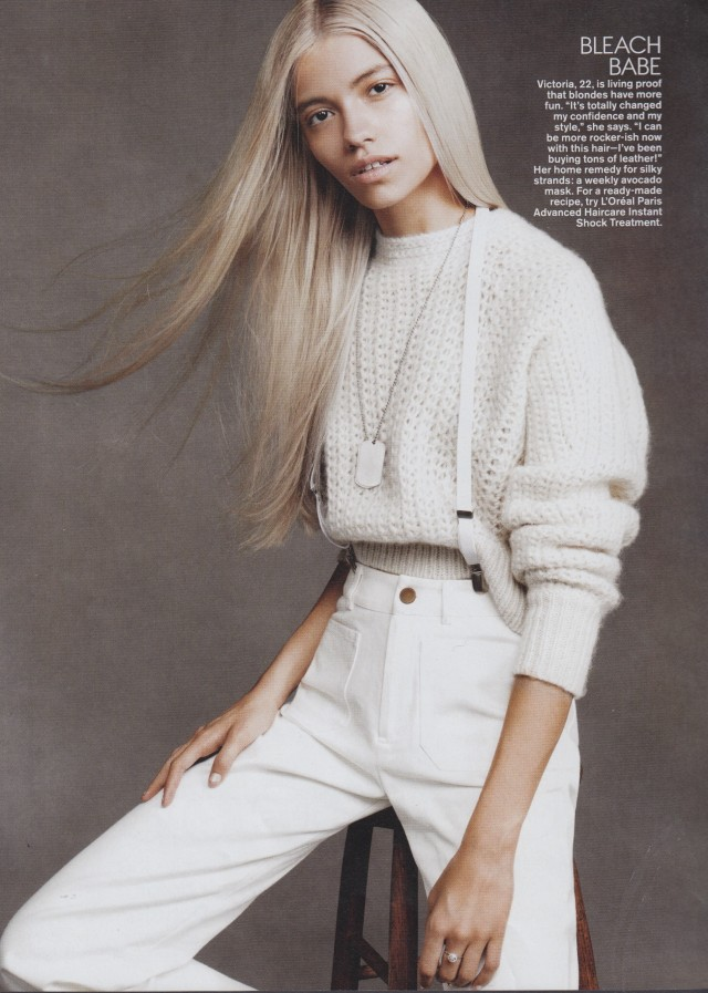 Victoria Britto by Christian MacDonald in Teen Vogue