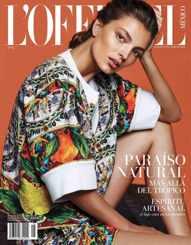 Carola Remer L'officiel Mexico