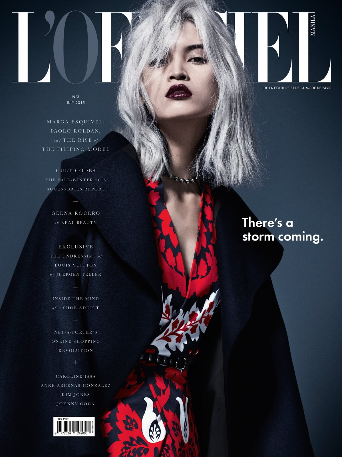 LOfficiel Manila July 2015 over Marga Esquivel by Markus Ziegler