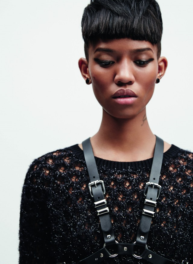 Adesuwa for The Kooples FW14