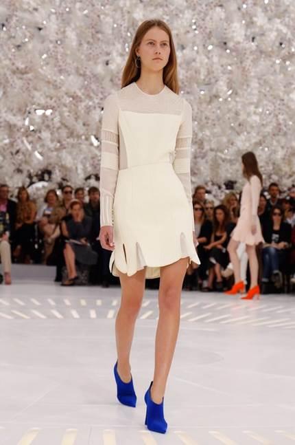 Julie Hooman - Christian Dior Runway